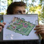 Plan du camping Pré des moines