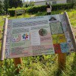 panneau sur la permaculture