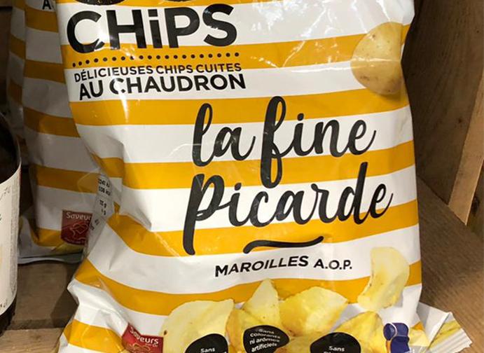 Chips La fine Picarde