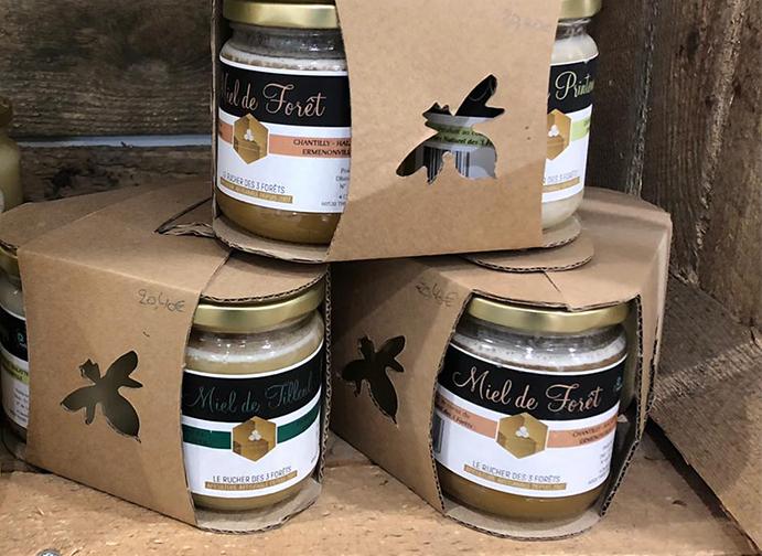 Miel de foret Le rucher des 3 forets
