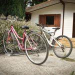 Parking a vélo du camping Pré des moines