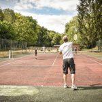 Terrain de tennis du camping Pré des moines