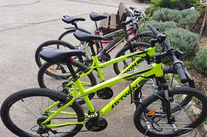 Vélos du camping Pré des moines
